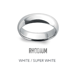 White Rhodium